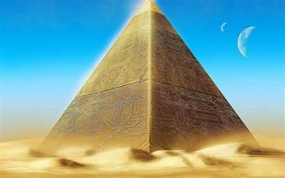 Giza Pyramids Pyramid Wallpapers Wallpapertag