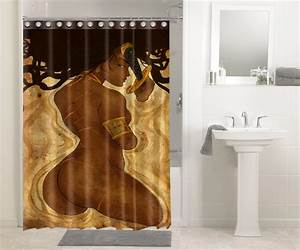 Afrocentric Afro Hair African Women #1465 Shower Curtain