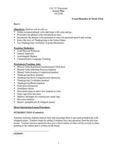 nicoleclemtesolportfolio thanksgiving lesson plan