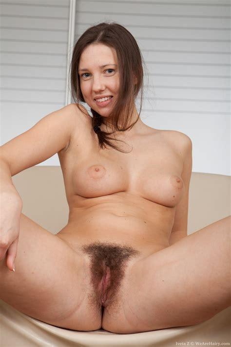 Sexy Iveta Z Finger Fucks Her Fluffy Pussy