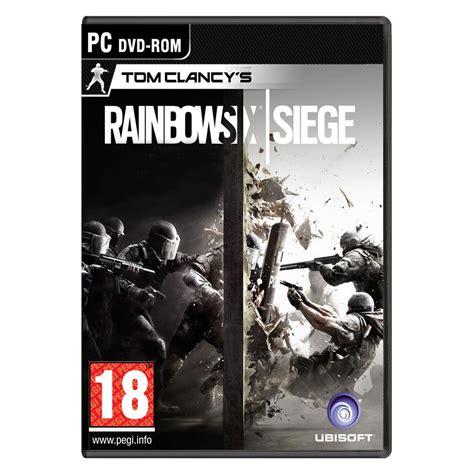 siege de jeux rainbow six siege pc jeux pc ubisoft sur ldlc com