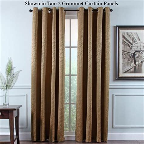 portland room darkening insulated grommet curtain panels