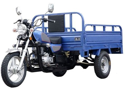 Gasline Cargo Motorbike 3 Wheel Motorized Tricycle Open