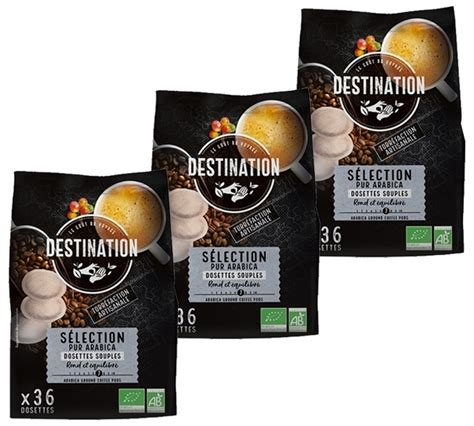 And i placed an order. Destination 'Sélection Pur Arabica' organic coffee pods ...