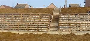 Mur De Soutenement En Gabion : construction pose de murs type gabion dynamique ~ Melissatoandfro.com Idées de Décoration
