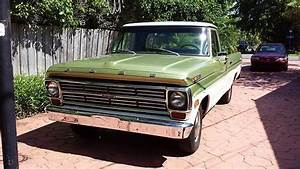 Sell Used 1970 Ford F100 Pickup Truck Long Bed V6  4