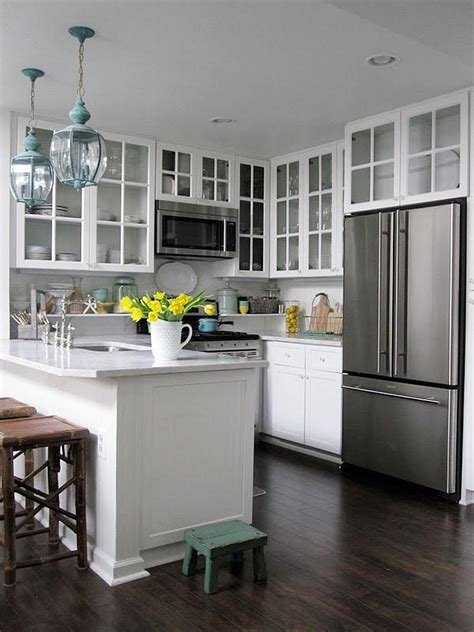 small kitchens with dark cabinets best ideas to select paint color for a small kitchen to