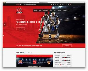 Awesome wordpress sports themes for news sites sports for Wordpress splash page template