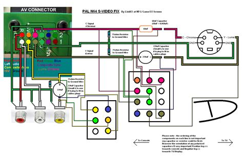 N64 Controller Wiring Diagram by Wiring Diagrams Pal Wiring Library
