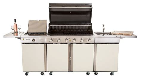 outdoor grill with sink top 8 best extra large gas barbecues with 6 or more burners