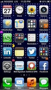 Best iPhone 5 home screen wallpaper.