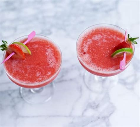 frozen daiquiri recipe frozen strawberry daiquiri recipe bbc good food