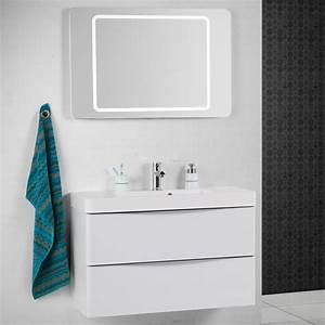 Großer Spiegel Mit Beleuchtung : scanbad samba spiegel mit beleuchtung umlaufend integriert ~ Michelbontemps.com Haus und Dekorationen