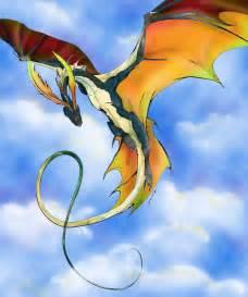 Beautiful Anime Dragon