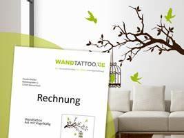 Shopping Auf Rechnung : wandtattoo auf rechnung bestellen ~ Themetempest.com Abrechnung