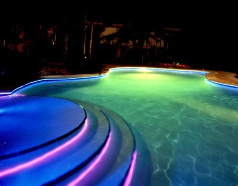 unique residential swimming pools swimming pool lights