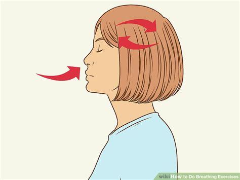 3 ways to do breathing exercises wikihow