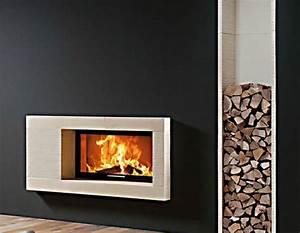 Cheminée Bois Design : chemin es chemin e design habillage chemin e ~ Premium-room.com Idées de Décoration
