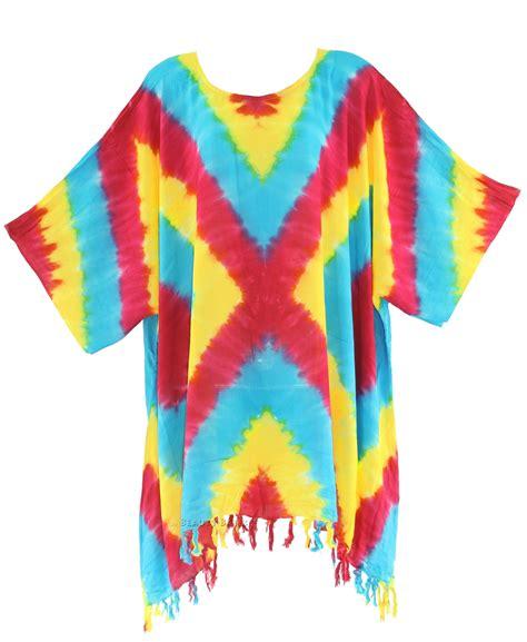 tie dye blouse boho hippie batik tie dye plus size blouse tunic