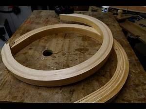 Cintrer Du Bois : travail du bois une pi ce cintr e en lamell coll ~ Melissatoandfro.com Idées de Décoration