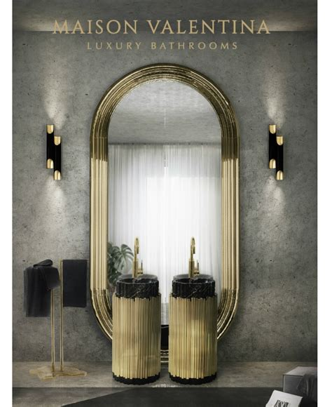 Luxury Bathrooms By Maison Valentina At Maison Et Objet 2017