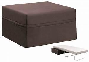 Pouf Convertible Lit : pouf tissu casa convertible lit home spirit ~ Teatrodelosmanantiales.com Idées de Décoration