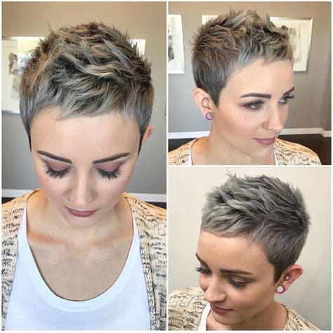 stylish pixie haircuts frauen short undercut frisuren