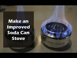 improved soda can stove soda can stove stove and soda With soda can stove template