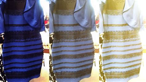 what color is the dress black blue or gold white dress explained