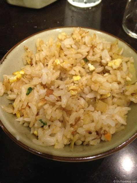 benihanas fried rice blythes blog