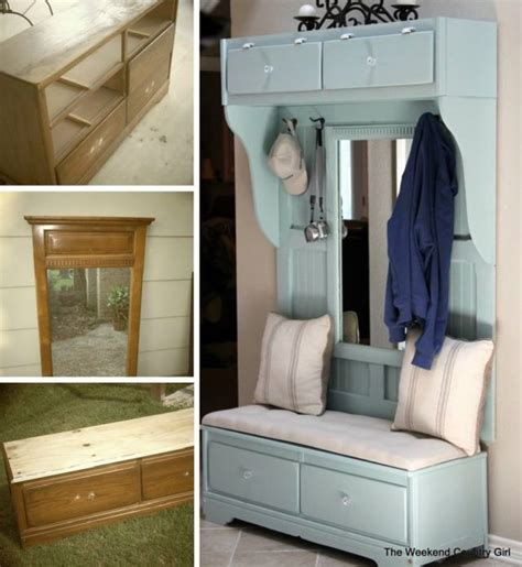 clever ideas  repurpose  furniture home design