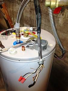 I Am Replacing An Already Removed Electric Water Heater