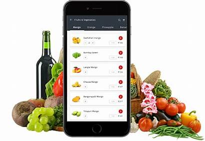 Grocery Delivery Application Service App Mobile Banner