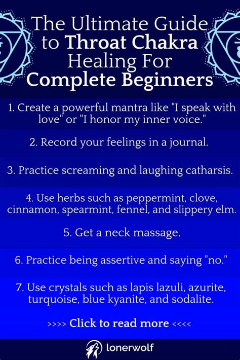 The Ultimate Guide To Throat Chakra Healing For Complete