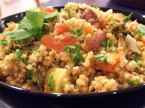 millet cuisine the quot v quot word veganmofo quot u quot is for upma with millet and