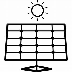 Panneau Solaire Gratuit : vue droite de panneau solaire t l charger icons gratuitement ~ Melissatoandfro.com Idées de Décoration