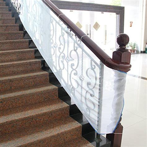 Banister Safety Guard by Tinyguards Stairs Protect Safety Net For Indoor And