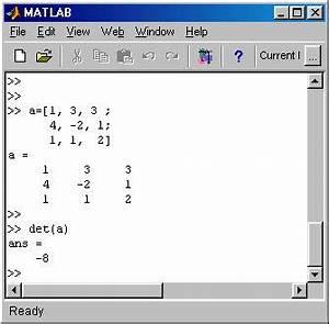 Inverse Matrix 4x4 Berechnen : matlab linear systems solution ~ Themetempest.com Abrechnung
