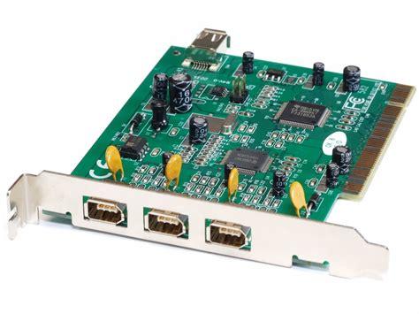 external  internal port firewire pci pc host