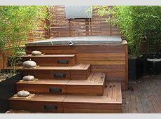 15 Hot Tub Deck Surround Ideas HotTubWorks Spa & Hot Tub