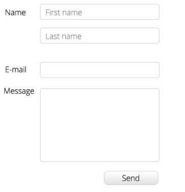 html how to style input and submit button with css