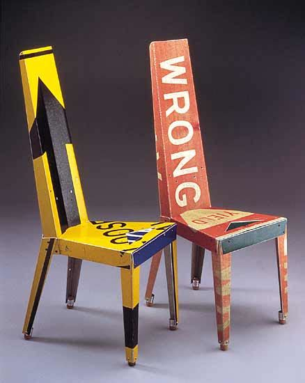 recycled chair creative chairs from odd materials