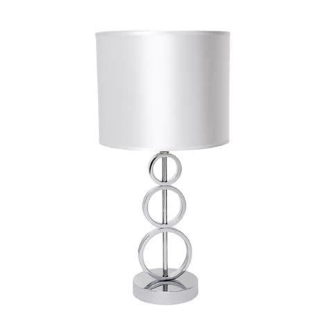 Chrome Lamp Base light table lamp chase cafe 43cm chrome base wte sde 11329