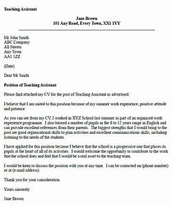 Teaching assistant cover letter example icoverorguk for Educational assistant cover letter examples