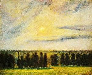 Eragny Art De Vivre : puesta de sol en eragny leo sobre lienzo de camille ~ Dailycaller-alerts.com Idées de Décoration