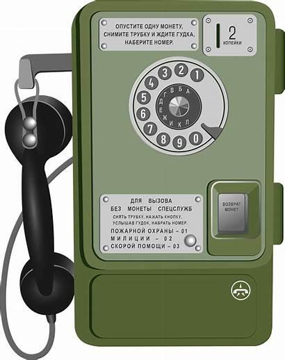 Clipart Phone Pay Soviet Telefon Clip Openclipart