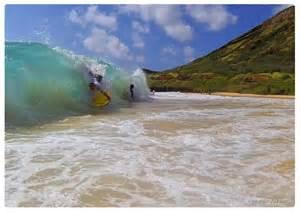 Body Surfing Sandy Beach Hawaii