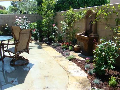 tuscan landscaping ideas tuscan patio with water feature ideas courtyard landscape outdoor ℭƙ irvinehomeblog com