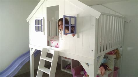 ana white clubhouse bed full size   diy projects