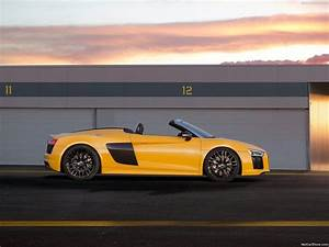 Audi R8 Spyder 2017 Wallpapers - Wallpaper Cave
